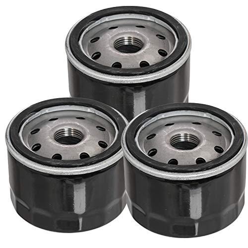 Carkio 951-12690 Ölfilter kompatibel mit Cub Cadet CC30 CC30H Craftsman LT1500 LT3800 LT4200 MTD 4P90HU 4P90HUA 4P90HUB Motor Rasenmäher Motor 751-11501 751-12690 (3 Stück )