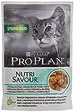 PRO PLAN CAT Nutrisavour Ster.Pesce comida para gatos Gato mojado Prima