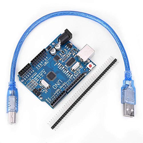 ATmega328P Development Board Compatible with Arduino IDE Develope Kit Microcontroller with USB Cable