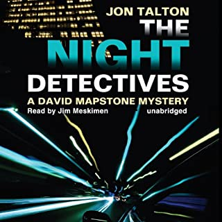 The Night Detectives audiobook cover art
