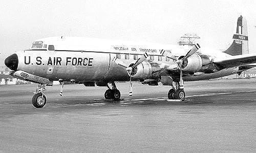 1 144 C-118A USAF Mats by Minicraft Models