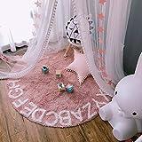 OldPAPA Moskitonetz, Betthimmel Deko Baldachin Moskitonetz Kinder Prinzessin Spielzelte Dekoration für Kinderzimmer, mit Sternen Dekoration 60 * 300cm (Rosa) - 3