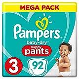Pampers  Baby-Dry Pants Windelhose, weiß
