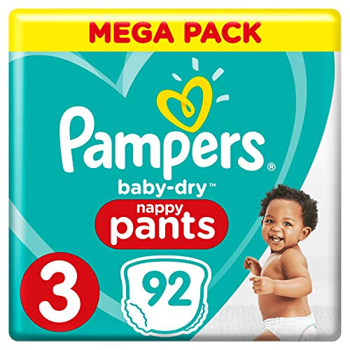Pampers 81666879 Baby-Dry Pants windelhose, weiß