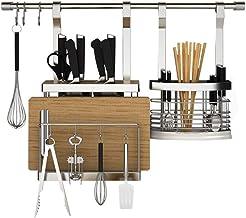 Tableware Storage, Drain Rack/Utensil Holder Rack Knife Holder and Cutting Board Rack Dish Drying Racks for Kitchen