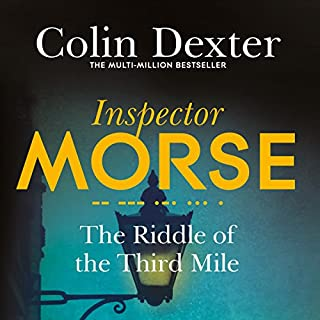 The Riddle of the Third Mile     Inspector Morse Mysteries, Book 6              Auteur(s):                                                                                                                                 Colin Dexter                               Narrateur(s):                                                                                                                                 Samuel West                      Durée: 6 h et 29 min     1 évaluation     Au global 5,0