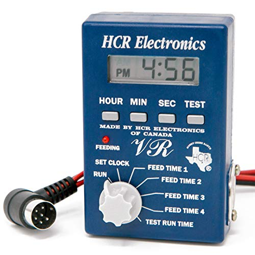 HCR Electronics Deer Feeder, Fish Feeder, and Game Feeder 12v VR Digital Timer for Deer Feed and Fish Feed - Features an Interval Timer for Corn Feed - Perfect for Your Hunting Feeder