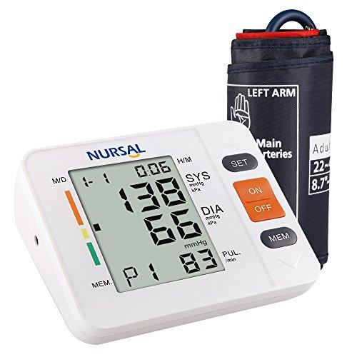 NURSAL Digitales Oberarm-Blutdruckmessgerät
