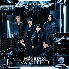 MONSTA X「WANTED」の歌詞を収録したCDジャケット画像