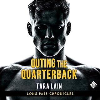 Outing the Quarterback audiobook cover art