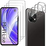 QULLOO Panzerglas Schutzfolie für Xiaomi Mi 11 Lite 4G/5G