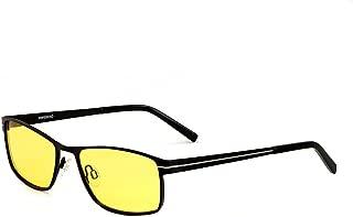 TELAM Night vision goggles, night vision glasses, chauffeur car, night night luminous glare polarizer driving mirror.