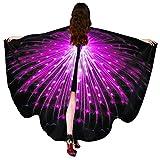 DIYARTS Schmetterling Schal Mädchen Schöne Flügel Poncho Schal Multicolor Weichen Stoff Strand...