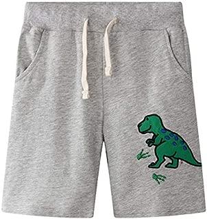CHUJUZI Summer Baby Boy Drawstring Printing Cotton Shorts Pants Five Cents Trousers