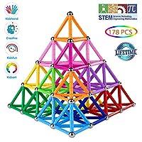 GIOCA PER IMPARARE - aiuta i bambini ad imparare il colore, il conteggio e la costruzione di modelli piani o geometrici. Allo stesso tempo, migliorare il senso di realizzazione del bambino. Lascia correre l'immaginazione! MATERIALI SICURI E QUALITÀ S...