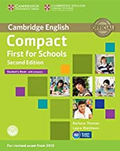 Scaricare Libri Compact first for schools. Student's book with answers with CD-ROM 2nd Edition [Lingua inglese] PDF