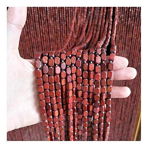 JIAJUAN Beaded Curtain, Wooden Door String Curtains