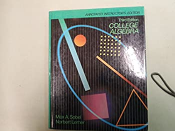 College Algebra: Annotated Instructor's Edition 0131421263 Book Cover