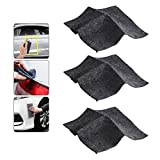 Nano Magic Car Scratch Remover Cloth, Multipurpose Scratch Repair Cloth,Easy to Repair Small and Medium Scratched Car Paint Water Spots on Surface (3 pcs)
