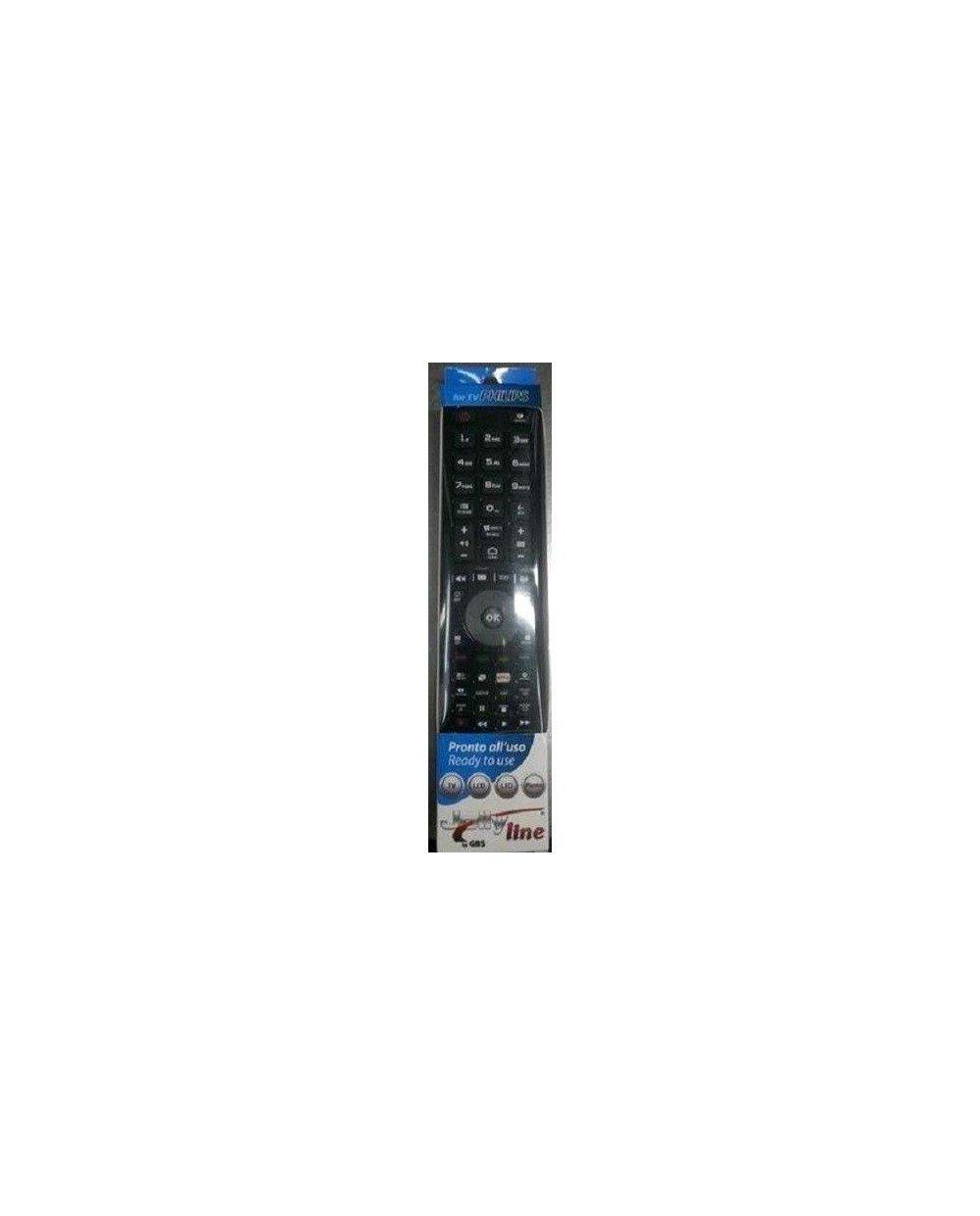 Mando a Distancia Universal para TV Philips Listo para Usar con botón Netflix gbs (1719): Amazon.es: Electrónica