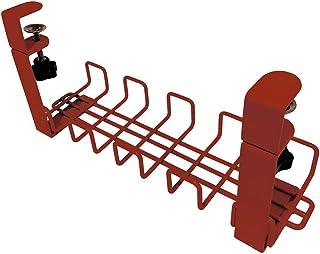 プラス Garage 配線ケーブルトレー 幅40cm レッド 434665