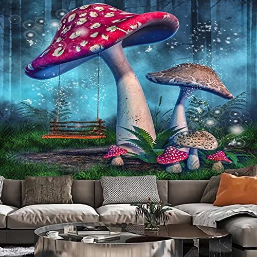 Mycin svamp mandala gobeläng vägghängande böhmisk gyphon psykedelisk tapisseri gobeläng bakgrund tyg A40 130 x 150 cm