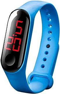xjS Orologio da Ragazza Orologi Bambino LED Digital dell'orologio del Braccialetto Kids Outdoor Orologio Sportivo for i Ra...
