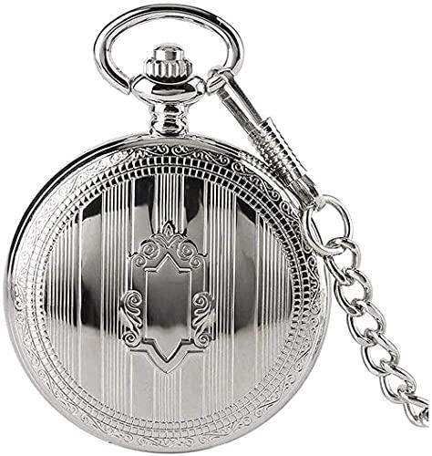 Orologio da taschino Classico orologio da taschino meccanico con superficie liscia vintage con...