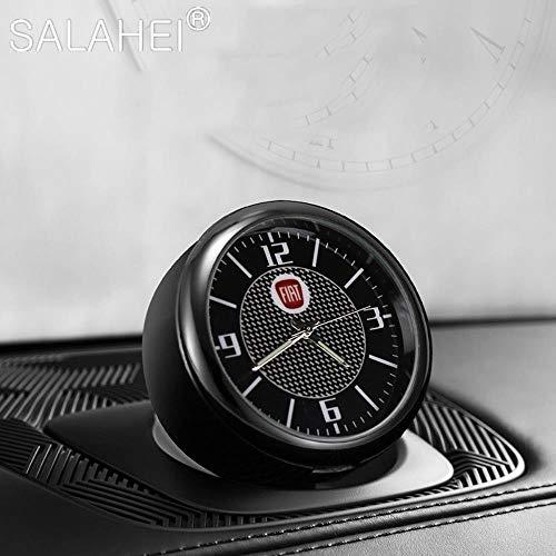 Auto Orologio Ornamenti Interni Prese D'aria Presa Clip Per Fiat Viaggio Abarth Punto 124 125 500 Visualizzazione Dell'ora Orologio Accessori Auto