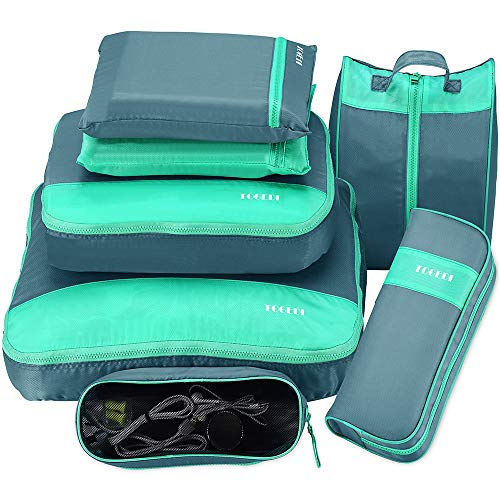 Packing Cubes for Travel Luggage Organizers 7 Set Suitcase Travel...