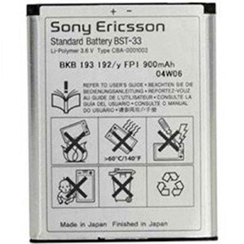 Original Sony Ericsson BST-33 Li-Polymer Akku 950 mAh passend für Sony Ericsson Z530i