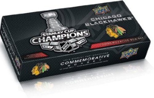 Upper Deck Chicago Blackhawks 2013 Stanley Cup Champions Hockey Cards Commemorative Box Set