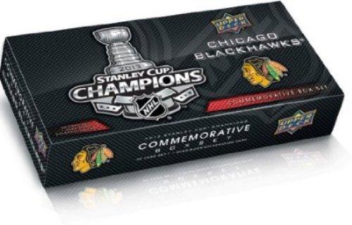 Upper Deck Chicago Blackhawks 2013 Stanley Cup Champions Hockey Cards Commemorative Box Set