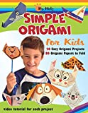 Simple Origami for Kids. 20 Easy Origami Projects | 80 Origami Papers to Fold: Video Tutorial for Each Project (Easy Origami For Kids With Paper)