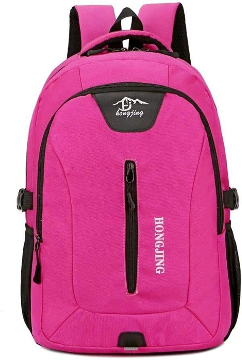 Large-Capacity Travel Backpack Sports and Leisure Students Shoulder Bag ZXMDMZ (color   A)
