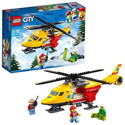 Lego Sa (FR) 60179 City - Jeu de construction - L'hélicoptère - ambulance