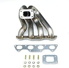 Honda Acura B-Series T3 Schedule 10 Pipe ProStreet Ram Horn Turbo Manifold AND GATE