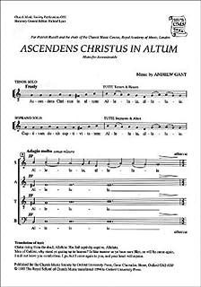 Ascendens Christus in altum: Vocal score