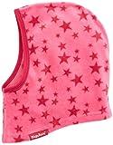 Playshoes Fleece-Schlupfmütze Sterne softe und atmungsaktive Schlupfmütze, Kinder - Unisex, Rosa (Pink), one size