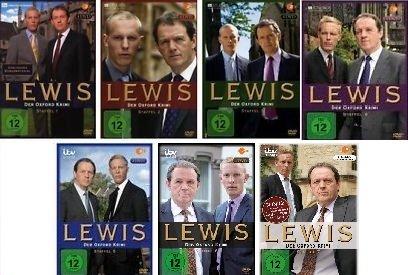 Lewis - Der Oxford Krimi - Staffel 1-7 im Set - Deutsche Originalware [28 DVDs]