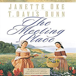 The Meeting Place     Song of Acadia, Book #1              By:                                                                                                                                 Jeanette Oke,                                                                                        T. Davis Bunn                               Narrated by:                                                                                                                                 Aimee Lily                      Length: 3 hrs and 12 mins     9 ratings     Overall 4.1