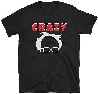 Crazy Bernie Sanders Tshirt, Socialism Sucks Anti-Bernie Shirt with Face Outline, Comfortable and Soft Unisex