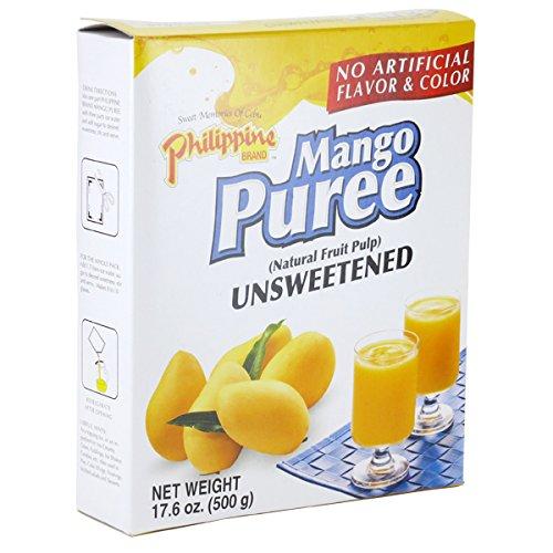 マンゴーピューレ 500g Philippine Brand Mango Puree unsweetened