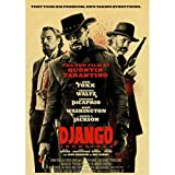 panggedeshoop Quentin Tarantino Movie Posters Django Unchained Retro Poster Print Wall Art Painting Vintage Poster Home Decor 40X50Cm (K: 0303)