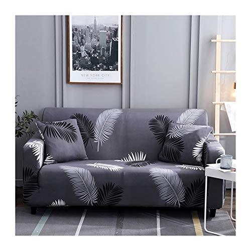 OYZK Cubiertas de sofá para Sala de Estar, Sofá Funda Elástica Sofá Sofa Sofa Sofa Toalla Cubierta Sofás con Chaise Longue 1pc (Color : Color 12, Specification : 4 Seater 235 300cm)