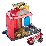 Mattel Stazione dei Pompieri Hot Wheels-Parque