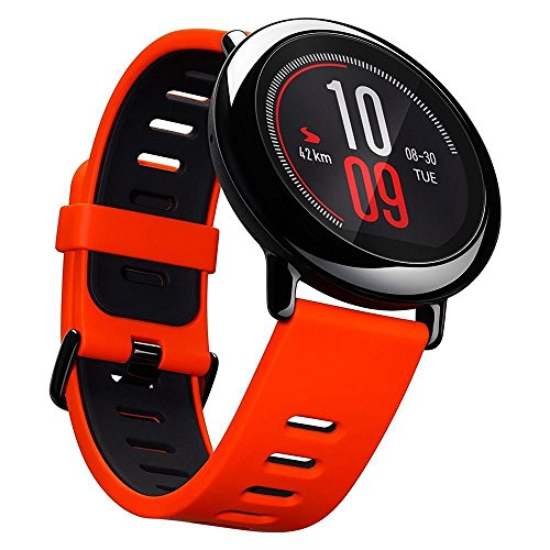 Huami Amazfit Bip Fitness Tracker, runn ingw atch, IP68, GPS + GLONASS, frecuencia cardíaca, negro