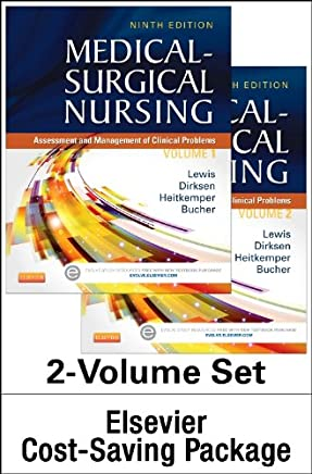 Medical-Surgical Nursing Two Volume Text + Study Guide: Assessment and Management of Clinical Problems