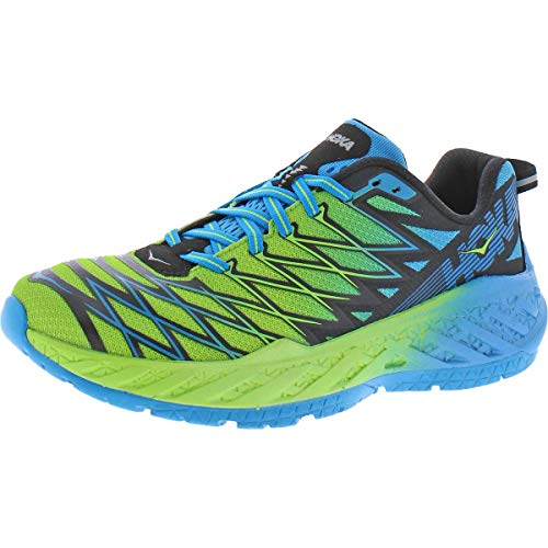 HOKA ONE ONE Mens Clayton 2 Green Running Shoes Sneakers 9 Medium (D)