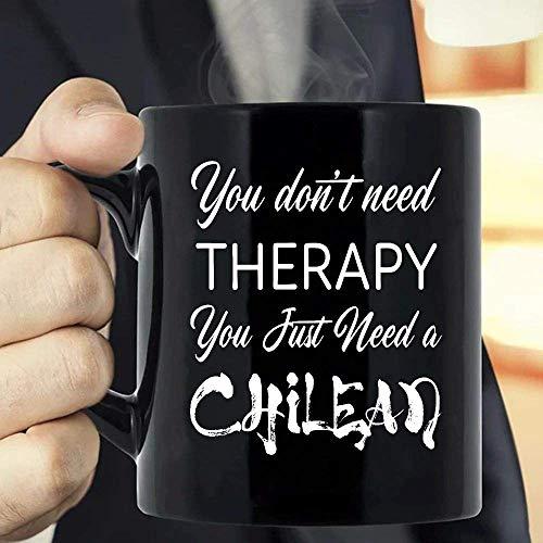 N\A No Necesitas Terapia Solo Necesitas una Taza chilena